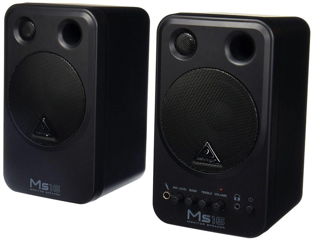 Behringer MS16 Studio Monitor Speaker