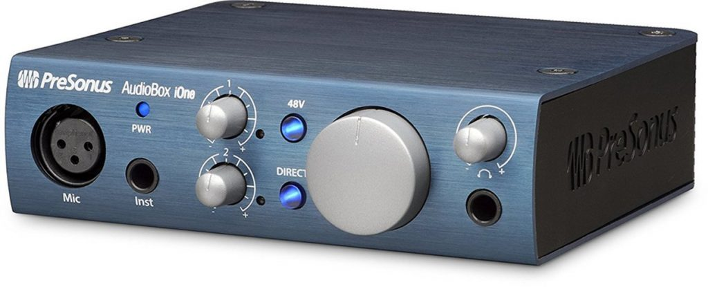 Presonus Audiobox IOne USB Recording Interface